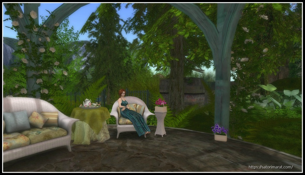 Garden Sit Cropped with effects and frame