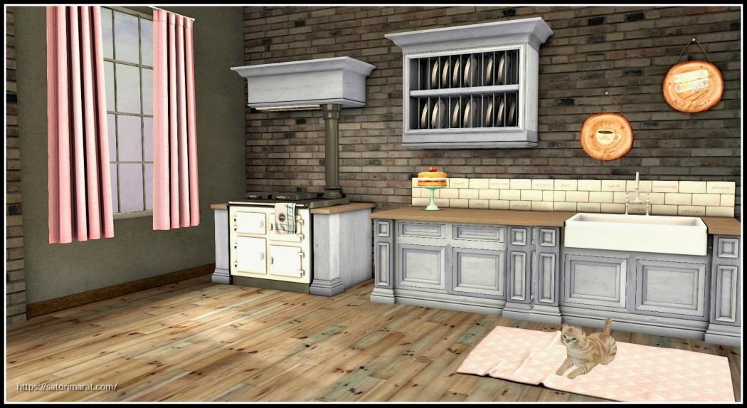 Abbott in Kitchen with frame